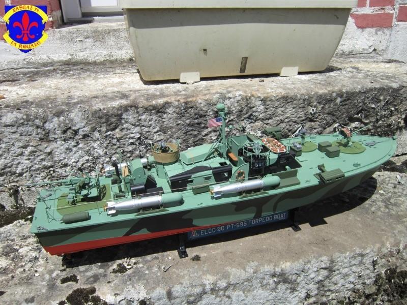 Elco 80 Torbedo boat par Pascal 72 Italeri au 1/35 219