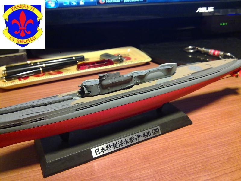 sous marin I-400  de Tamiya par pascal 72 au 1/350 2312