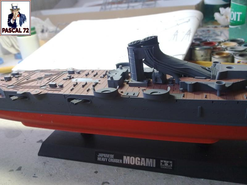 Croiseur lourd MOGAMI au 1/350 de Tamiya par pascal 72 25_110