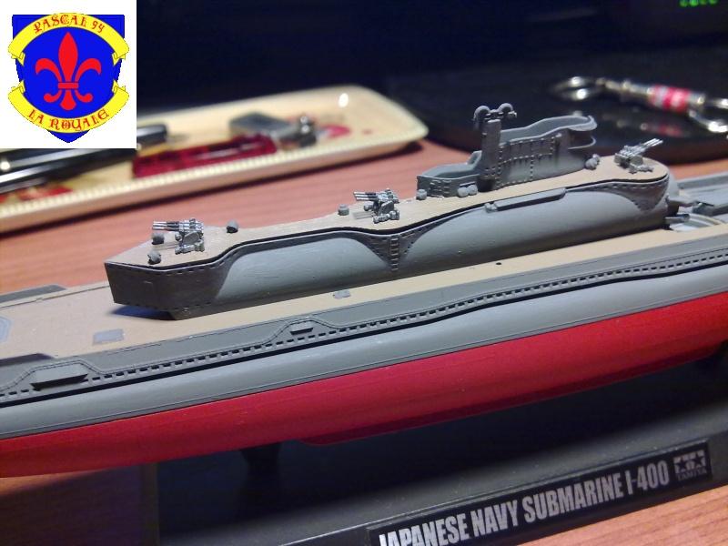 sous marin I-400  de Tamiya par pascal 72 au 1/350 2613