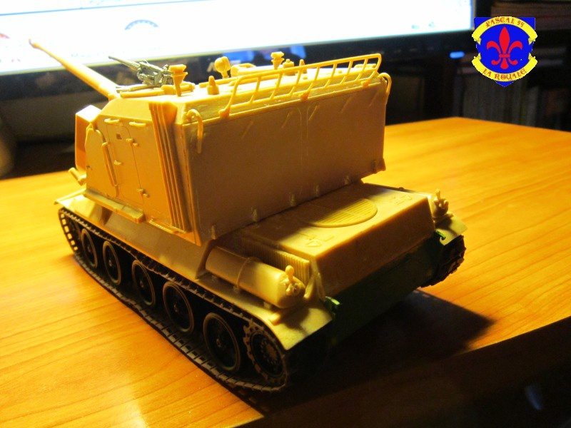AMX 30 AUF1 au 1/35 d'Heller par Pascal 72 2623