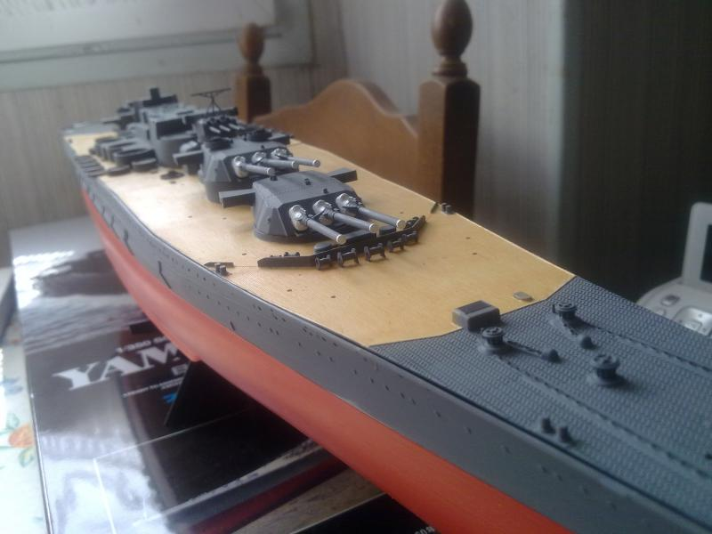 Cuirassé Yamato par Pascal 72 de Tamiya au 1/350 2710