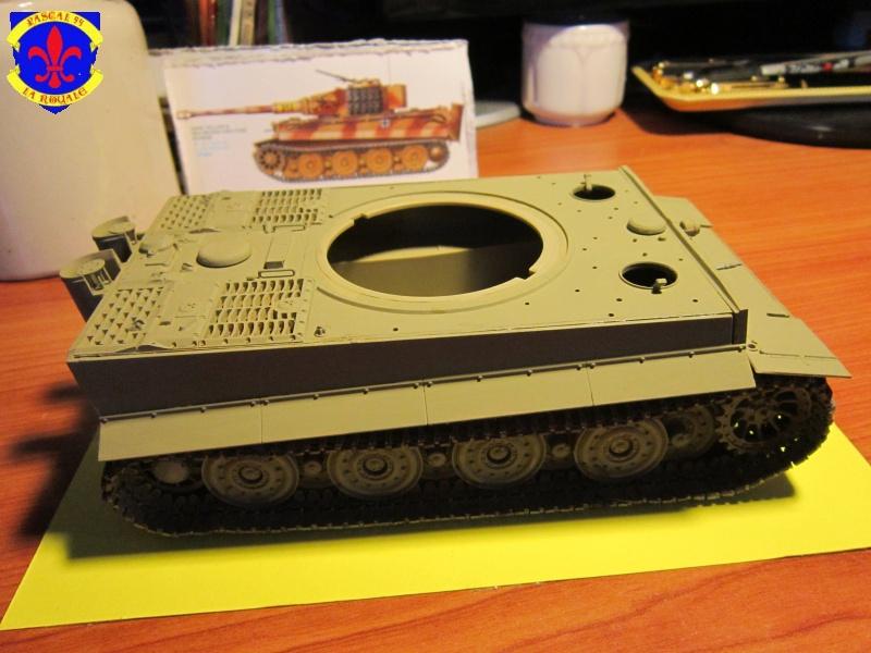 SD.KFZ.181 Tigre I de Tamiya au 1/35 par Pascal 72 2719