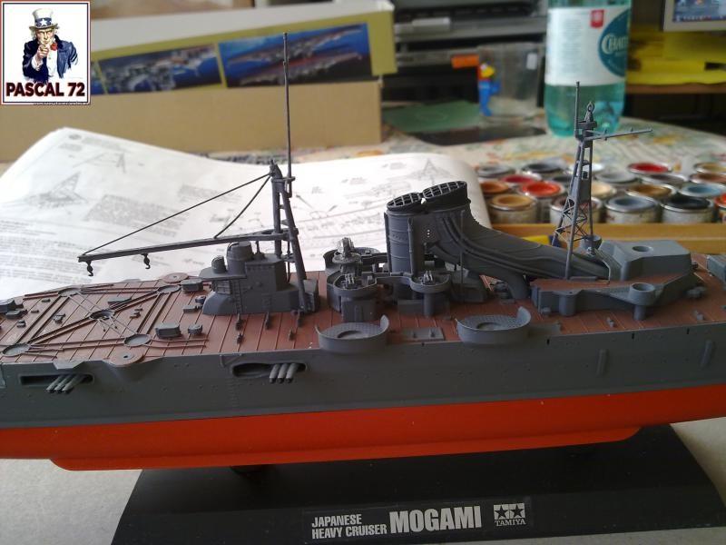 Croiseur lourd MOGAMI au 1/350 de Tamiya par pascal 72 27_110