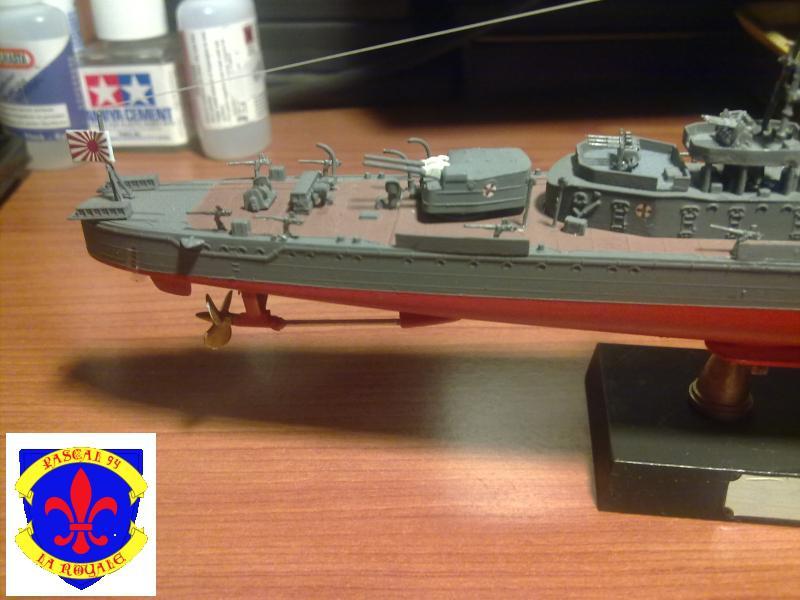 Destroyer Yukikaze par Pascal 72 au 1/350 de Hasagawa 2812