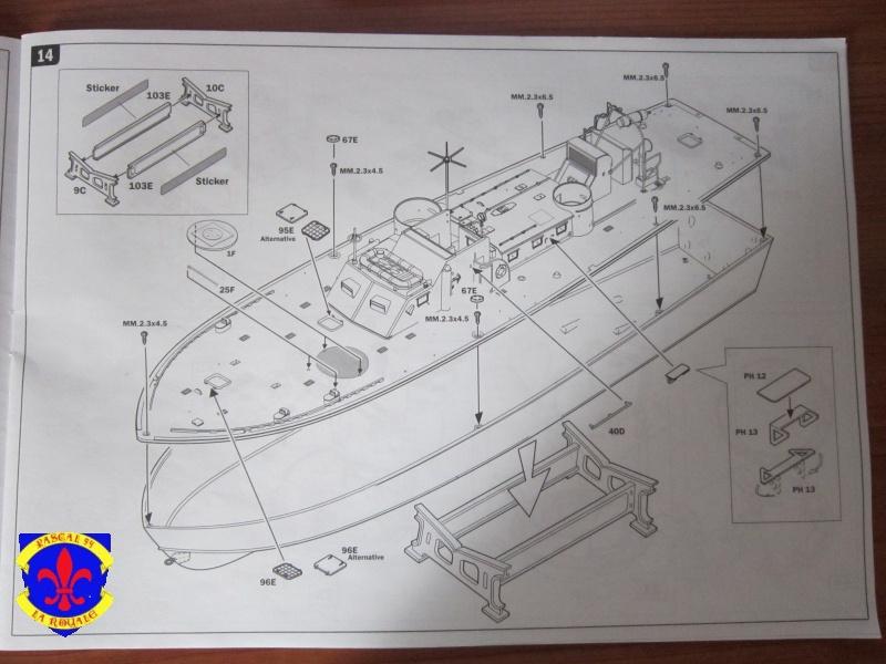 Elco 80 Torbedo boat par Pascal 72 Italeri au 1/35 2814