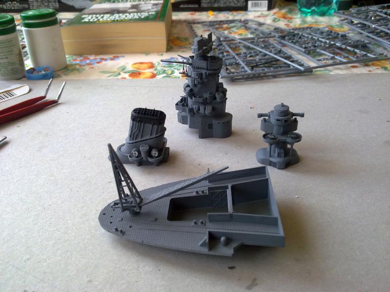 Cuirassé Yamato par Pascal 72 de Tamiya au 1/350 3010
