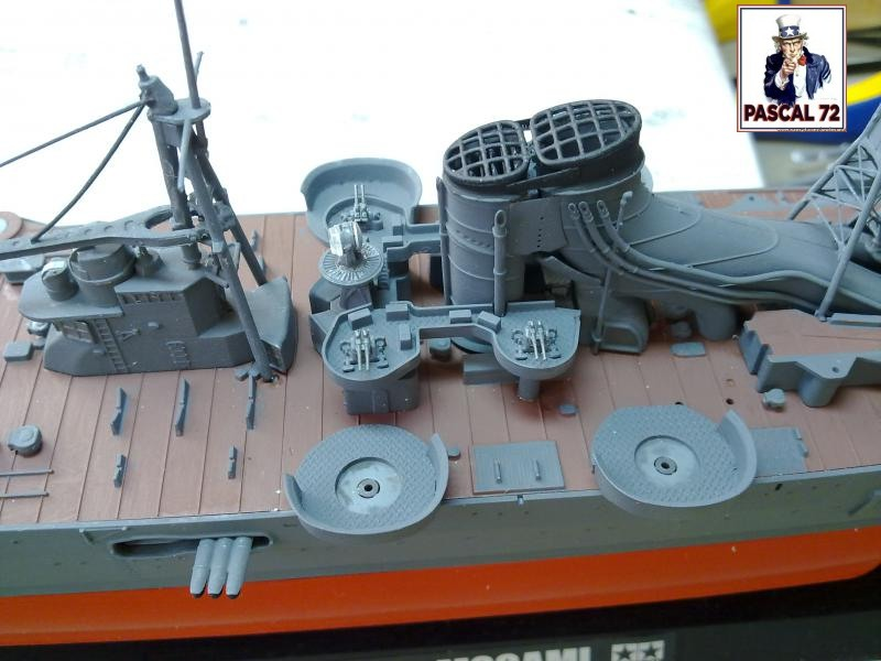 Croiseur lourd MOGAMI au 1/350 de Tamiya par pascal 72 31_110