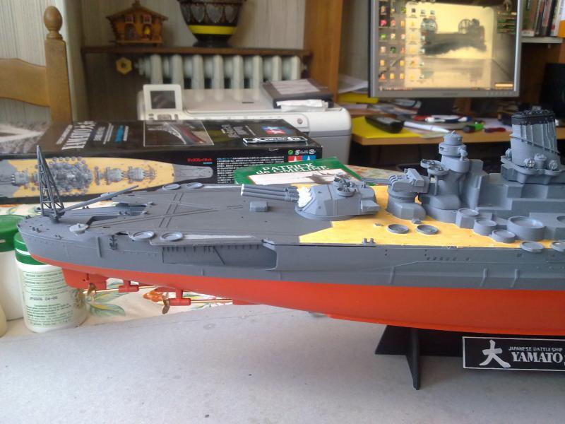 Cuirassé Yamato par Pascal 72 de Tamiya au 1/350 3210