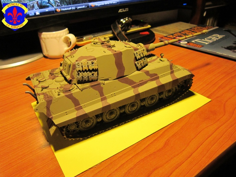 Sd.Kfz.182 King Tiger à tourelle Henschel de Dragon au 1/35e par pascal 72 3217
