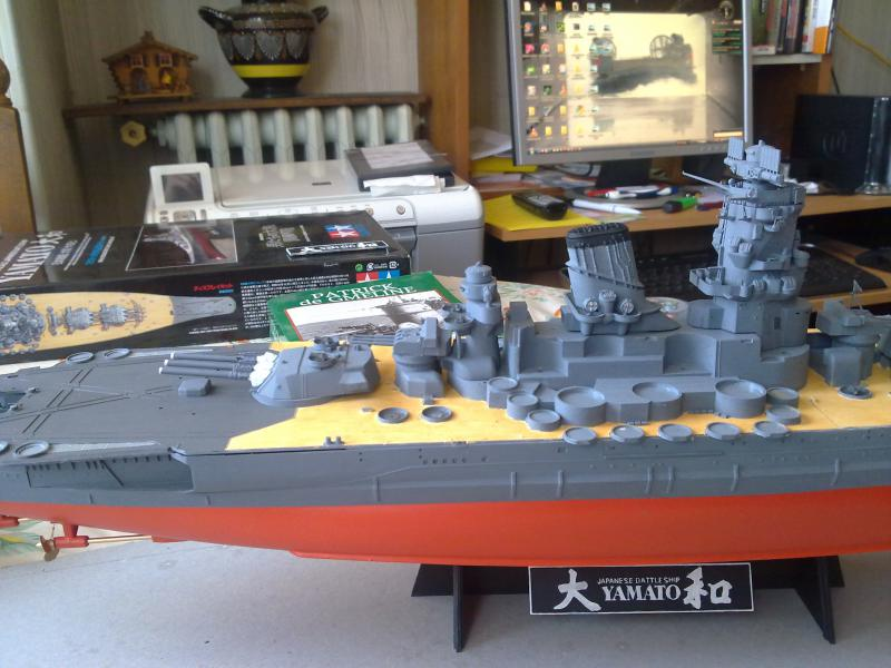 Cuirassé Yamato par Pascal 72 de Tamiya au 1/350 3310