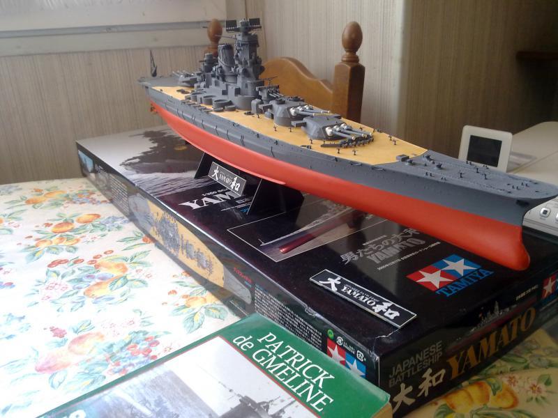 Cuirassé Yamato par Pascal 72 de Tamiya au 1/350 3410