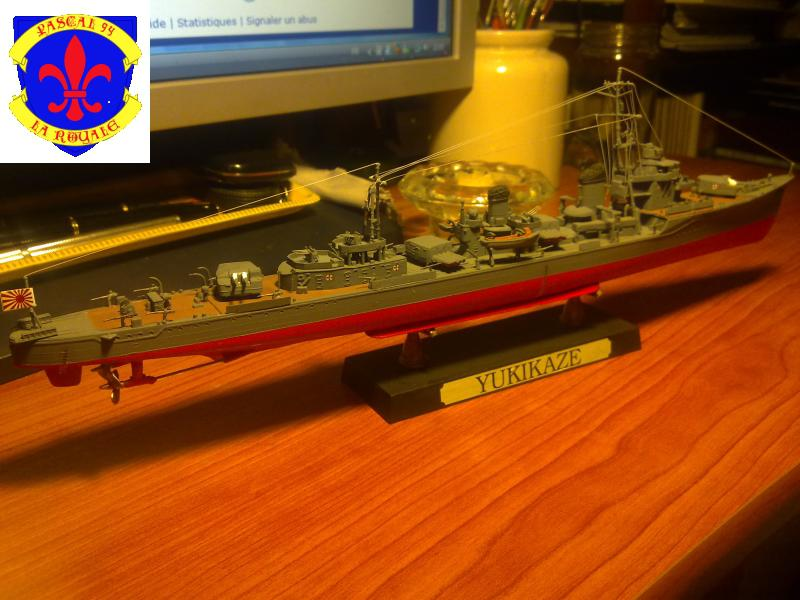 Destroyer Yukikaze par Pascal 72 au 1/350 de Hasagawa 3411