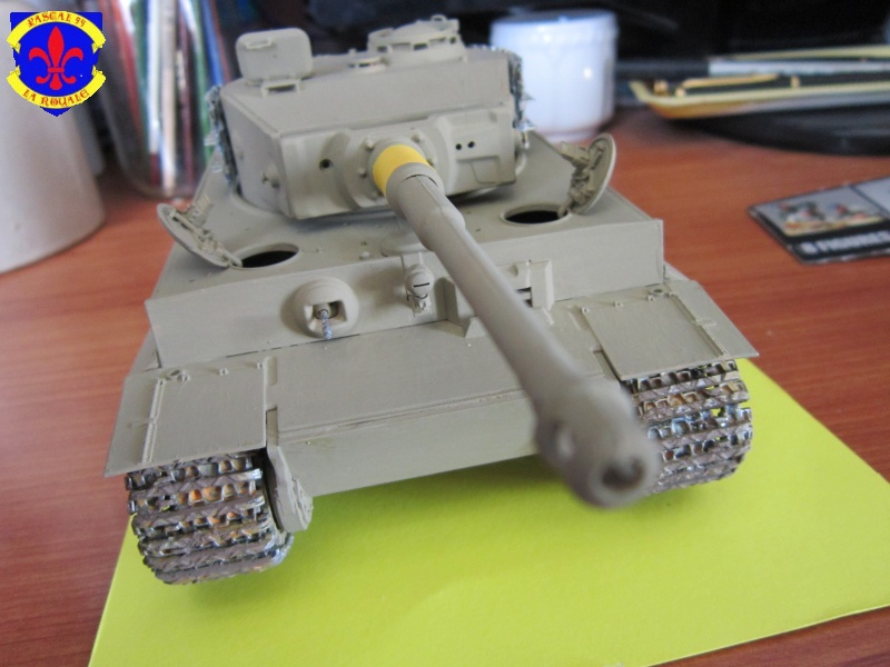 SD.KFZ.181 Tigre I de Tamiya au 1/35 par Pascal 72 3418