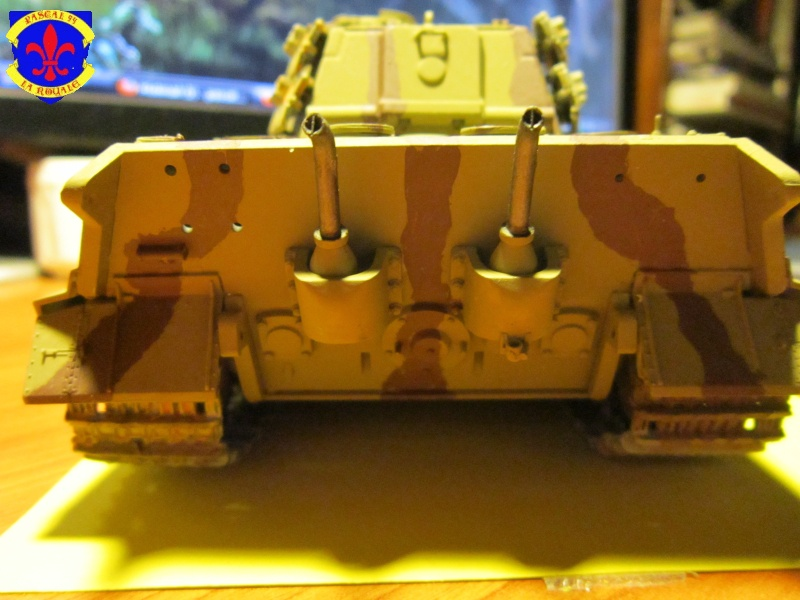 Sd.Kfz.182 King Tiger à tourelle Henschel de Dragon au 1/35e par pascal 72 3419
