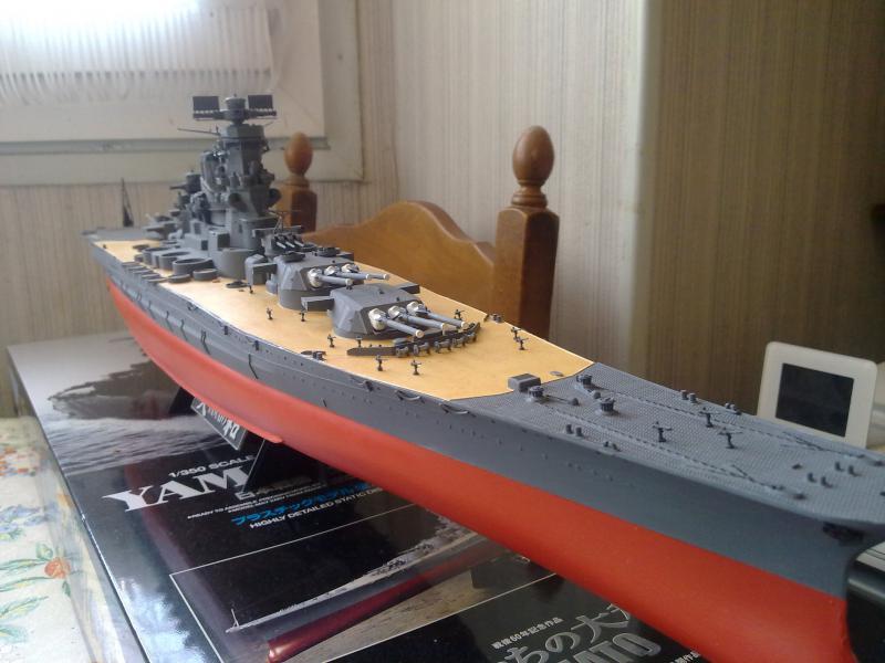 Cuirassé Yamato par Pascal 72 de Tamiya au 1/350 3510