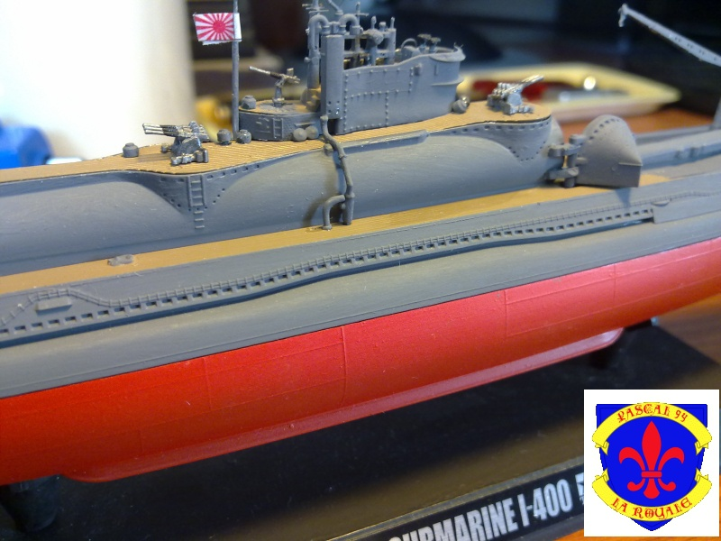 sous marin I-400  de Tamiya par pascal 72 au 1/350 3511