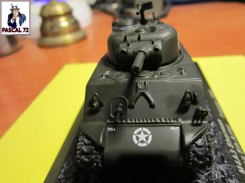 Char Sherman M4A3 du 756 bataillon 357
