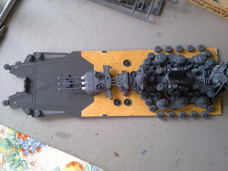 Cuirassé Yamato par Pascal 72 de Tamiya au 1/350 3610