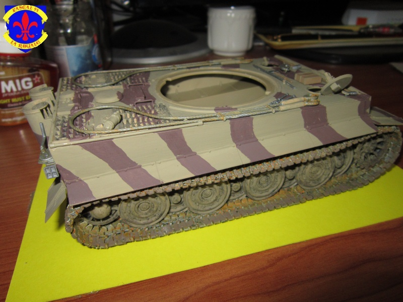 SD.KFZ.181 Tigre I de Tamiya au 1/35 par Pascal 72 3617