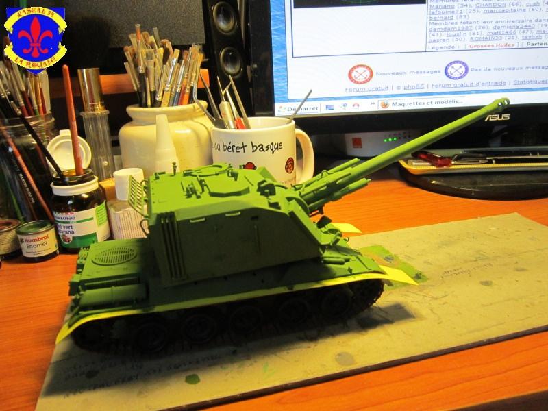 AMX 30 AUF1 au 1/35 d'Heller par Pascal 72 3620