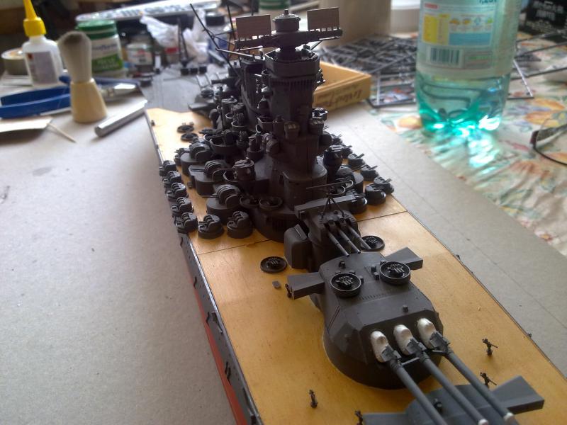 Cuirassé Yamato par Pascal 72 de Tamiya au 1/350 3710