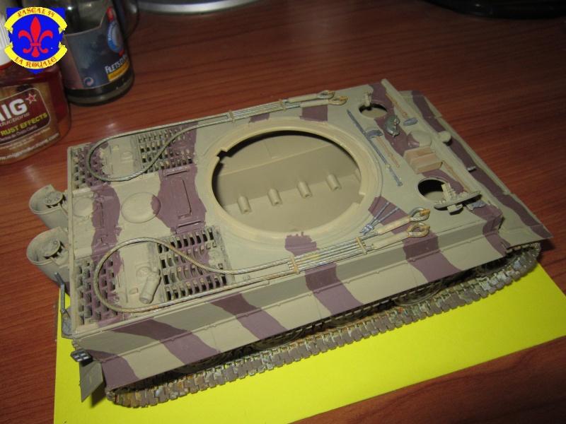 SD.KFZ.181 Tigre I de Tamiya au 1/35 par Pascal 72 3717