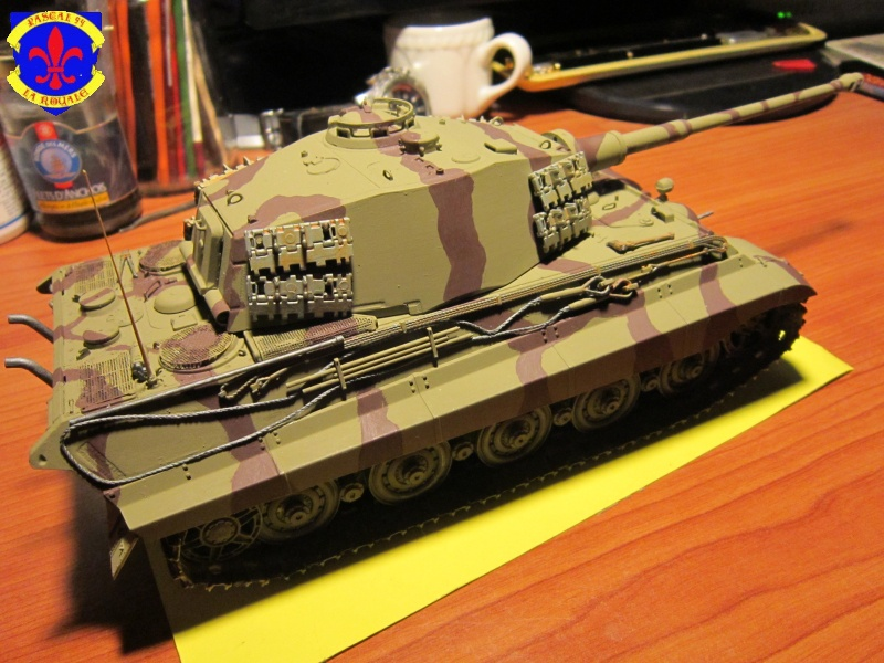 Sd.Kfz.182 King Tiger à tourelle Henschel de Dragon au 1/35e par pascal 72 3818