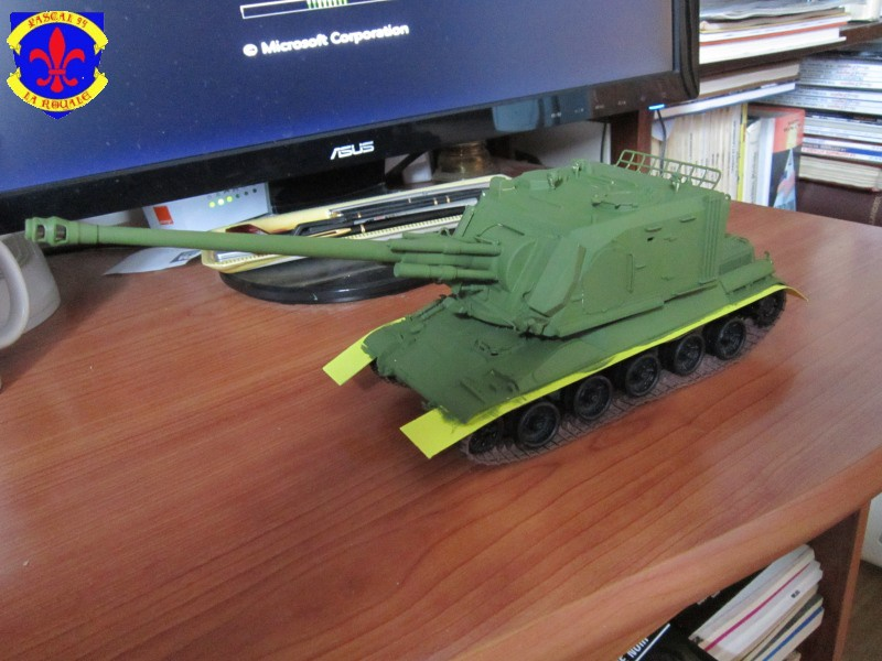 AMX 30 AUF1 au 1/35 d'Heller par Pascal 72 3820