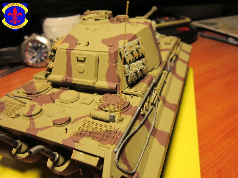 Sd.Kfz.182 King Tiger à tourelle Henschel de Dragon au 1/35e par pascal 72 3918