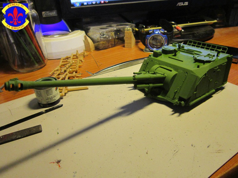 AMX 30 AUF1 au 1/35 d'Heller par Pascal 72 3920