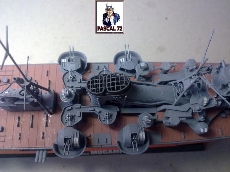 Croiseur lourd MOGAMI au 1/350 de Tamiya par pascal 72 39_110