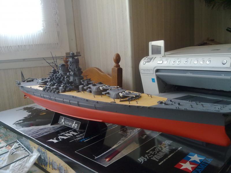 Cuirassé Yamato par Pascal 72 de Tamiya au 1/350 4010
