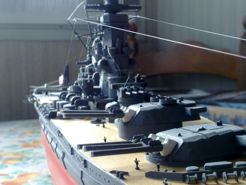 Cuirassé Yamato par Pascal 72 de Tamiya au 1/350 410