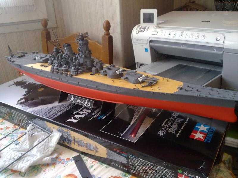 Cuirassé Yamato par Pascal 72 de Tamiya au 1/350 4110