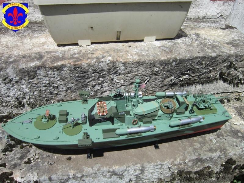 Elco 80 Torbedo boat par Pascal 72 Italeri au 1/35 420