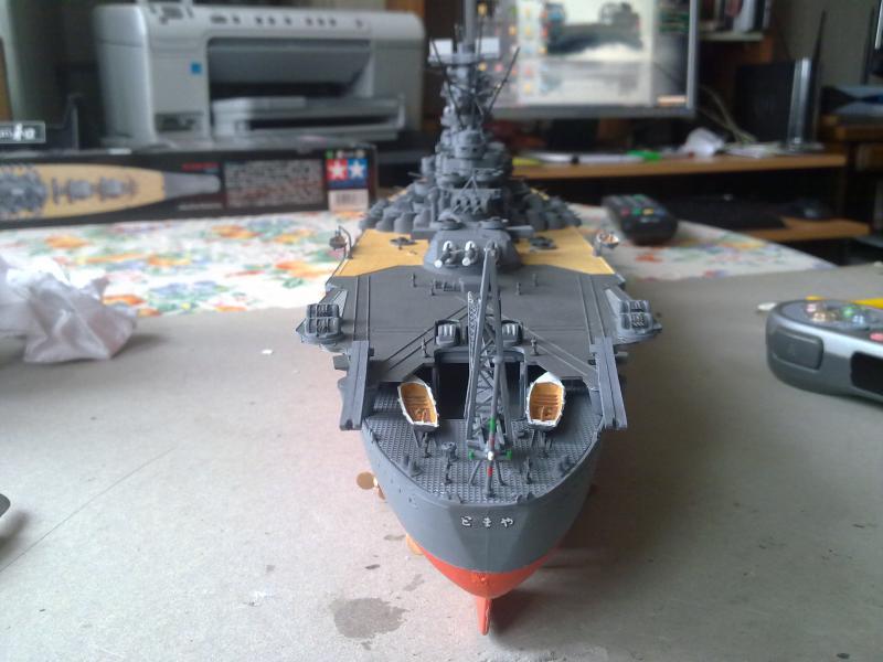 Cuirassé Yamato par Pascal 72 de Tamiya au 1/350 4210