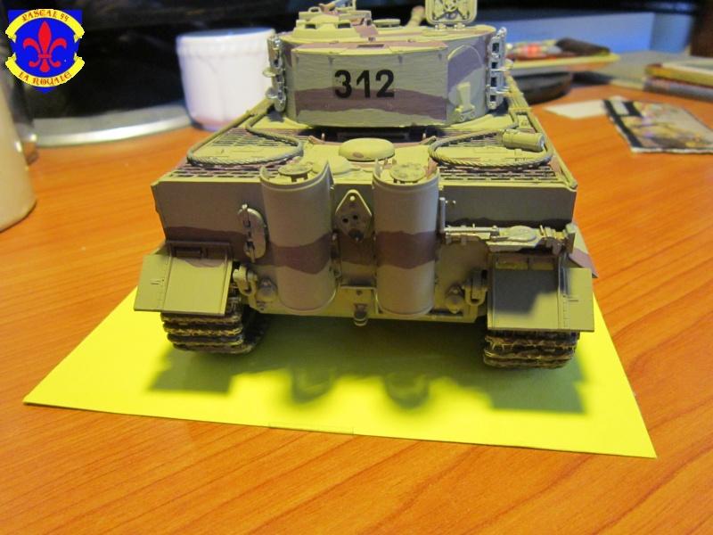 SD.KFZ.181 Tigre I de Tamiya au 1/35 par Pascal 72 4216