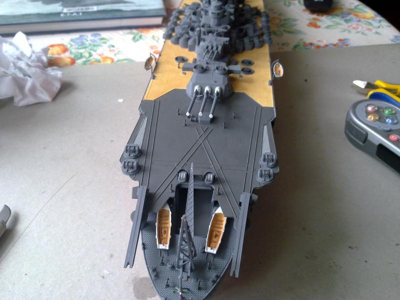 Cuirassé Yamato par Pascal 72 de Tamiya au 1/350 4310