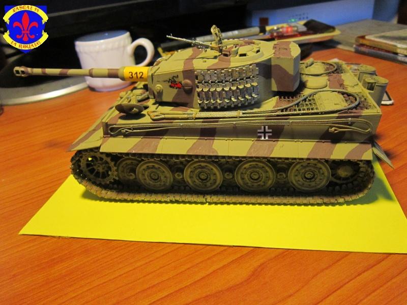 SD.KFZ.181 Tigre I de Tamiya au 1/35 par Pascal 72 4316