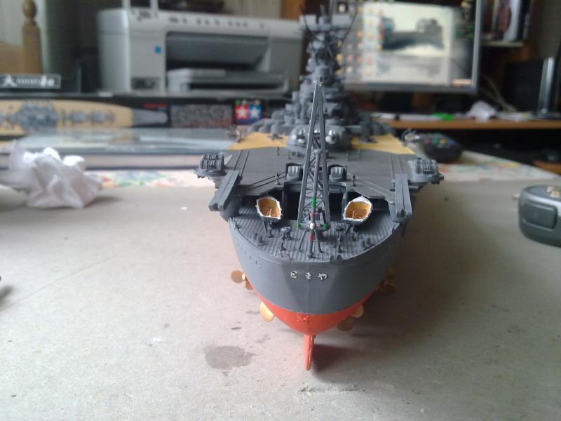 Cuirassé Yamato par Pascal 72 de Tamiya au 1/350 4410