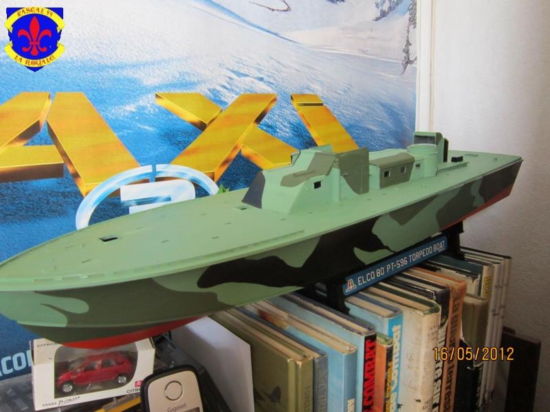 Elco 80 Torbedo boat par Pascal 72 Italeri au 1/35 4412