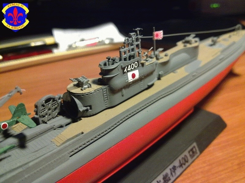 sous marin I-400  de Tamiya par pascal 72 au 1/350 4511