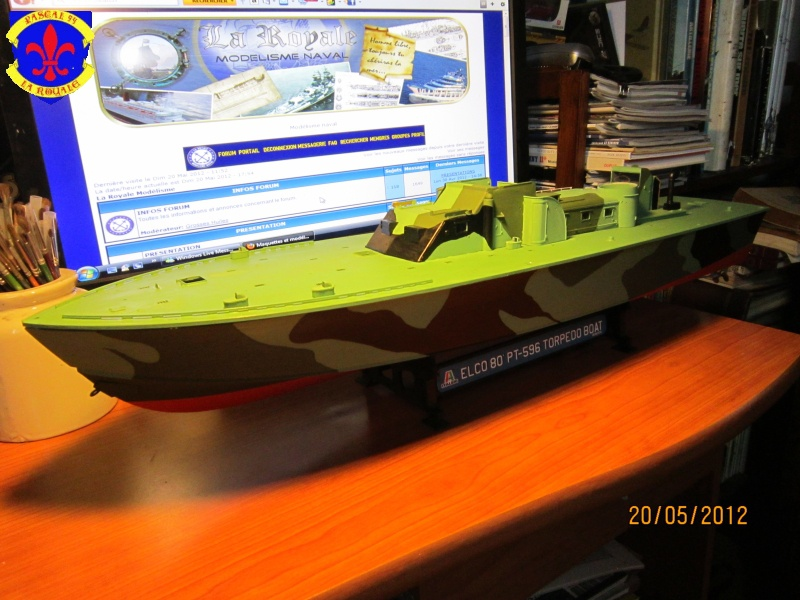 Elco 80 Torbedo boat par Pascal 72 Italeri au 1/35 4512