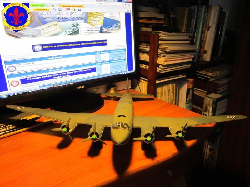 """FW200C-4 """"Condor"""" par Pascal 72 de Trumpeter au 1/48 4513"""