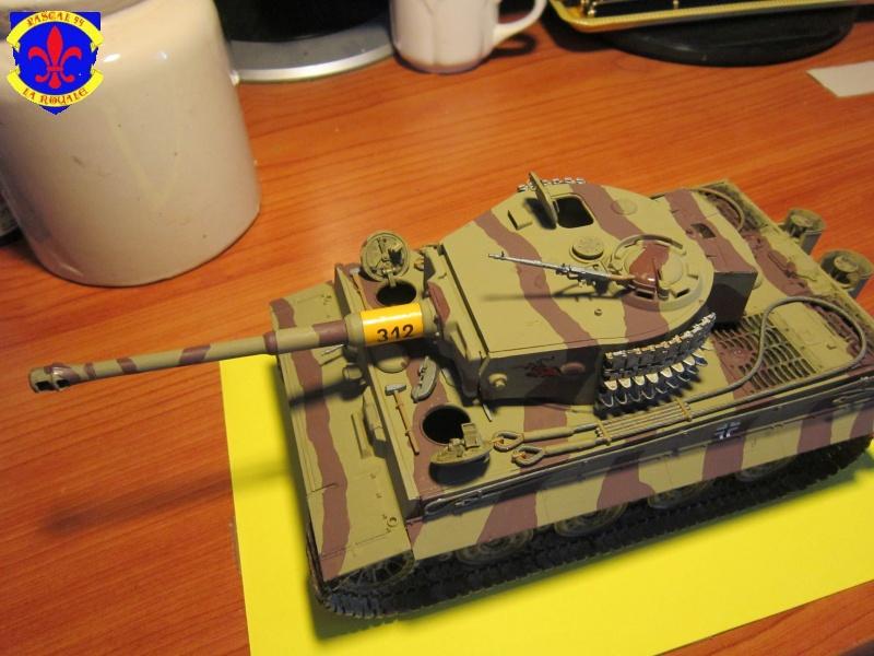 SD.KFZ.181 Tigre I de Tamiya au 1/35 par Pascal 72 4516