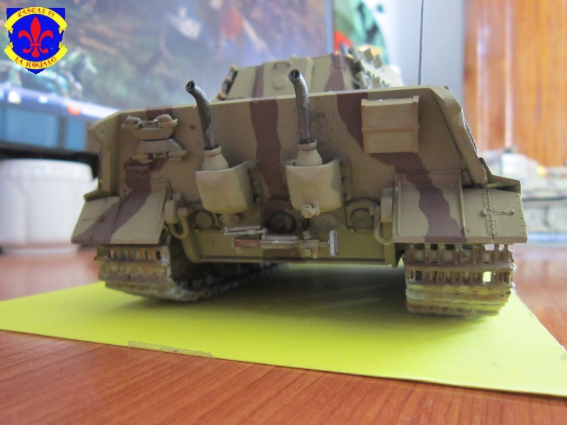 Sd.Kfz.182 King Tiger à tourelle Henschel de Dragon au 1/35e par pascal 72 4517
