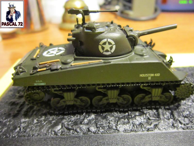 Char Sherman M4A3 du 756 bataillon 455