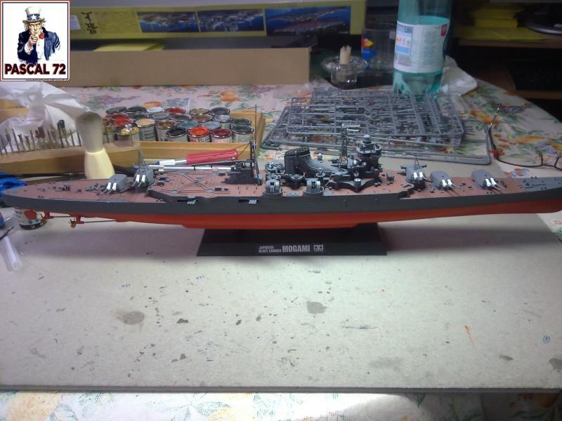 Croiseur lourd MOGAMI au 1/350 de Tamiya par pascal 72 45_110