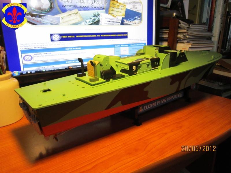 Elco 80 Torbedo boat par Pascal 72 Italeri au 1/35 4611